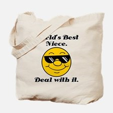 World's Best Niece Humor Tote Bag