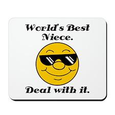 World's Best Niece Humor Mousepad