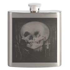 All is Vanity Flask