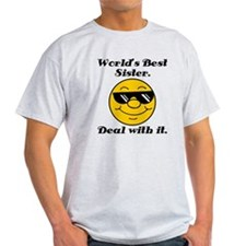 World's Best Sister Humor T-Shirt