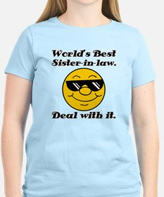 World's Best Sister-In-Law Humor T-Shirt