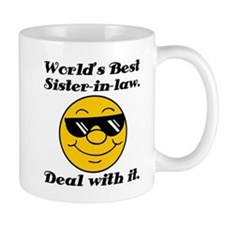 World's Best Sister-In-Law Humor Mug