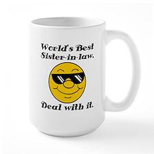 World's Best Sister-In-Law Humor Mug
