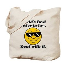 World's Best Sister-In-Law Humor Tote Bag