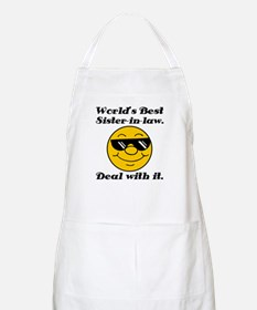World's Best Sister-In-Law Humor Apron