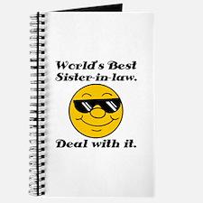 World's Best Sister-In-Law Humor Journal
