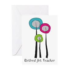 retired art teacher 7 Greeting Card