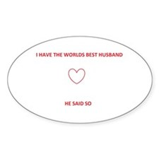 best husband Decal