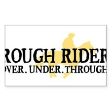 Rough Rider Decal