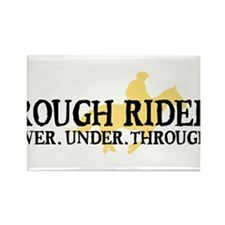 Rough Rider Rectangle Magnet