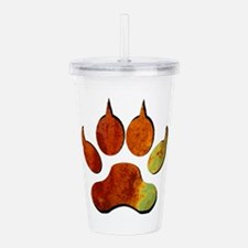 THE SIGNS THERE Acrylic Double-wall Tumbler