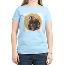Red Tail Hawk Women's Pink T-Shirt
