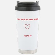 Best Husband Travel Mug