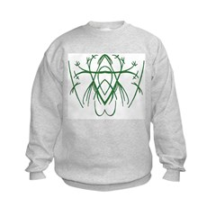 Green Tribal Sweatshirt