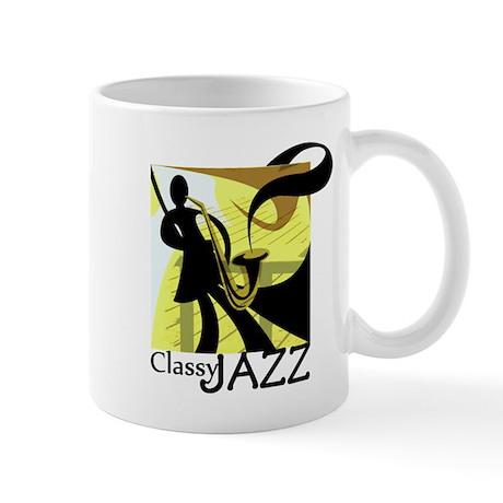 Classy Jazz Mug