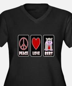 Peace Love Bert Plus Size T-Shirt