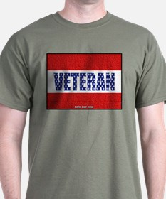 Veteran Flag Banner T-Shirt