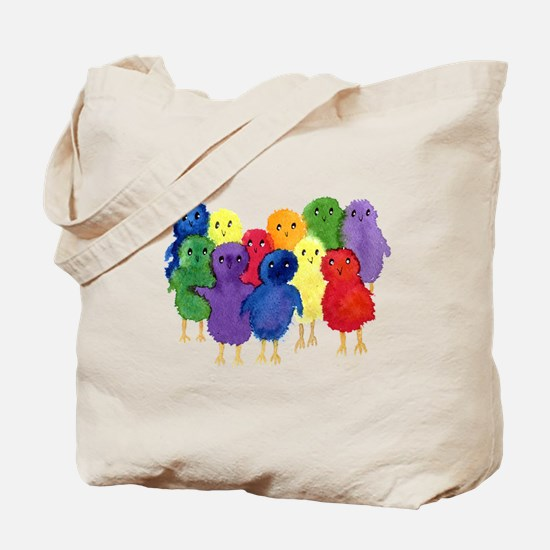 Easter Chicks Tote Bag