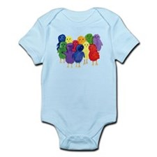 Easter Chicks Body Suit