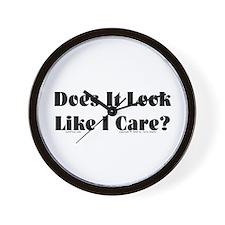 Like I Care? Wall Clock