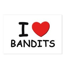 I love bandits Postcards (Package of 8)