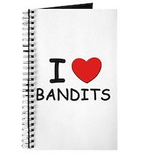 I love bandits Journal