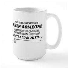 Australian Mist cat gifts Mug