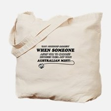 Australian Mist cat gifts Tote Bag