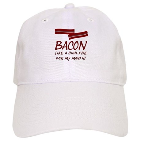 Bacon High-Five For Mouth Cap
