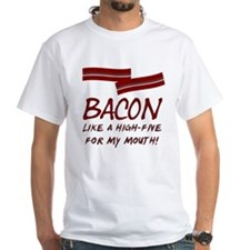 Bacon High-Five For Mouth Shirt