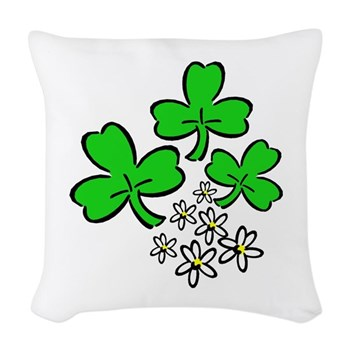 Irish Forever Woven Throw Pillow