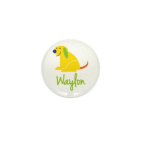 Waylon Loves Puppies Mini Button (100 pack)