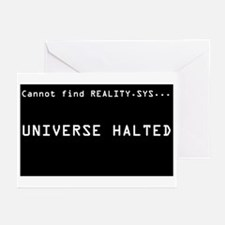 REALITY.SYS Greeting Cards (Pk of 10