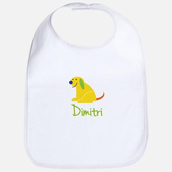 Dimitri Loves Puppies Bib