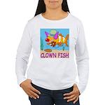 Clown Fish Women's Long Sleeve T-Shirt