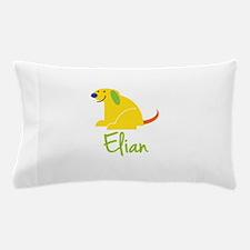 Elian Loves Puppies Pillow Case