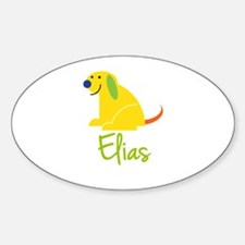 Elias Loves Puppies Decal