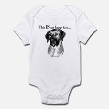 Ridgeback Happy Face Infant Bodysuit