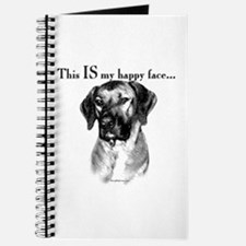 Ridgeback Happy Face Journal