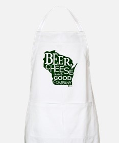 Beer, Chees & Good Company in Green Apron