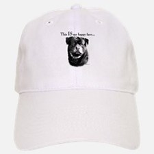 Rottweiler Happy Face Baseball Baseball Cap