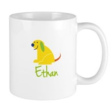 Ethan Loves Puppies Small Mugs
