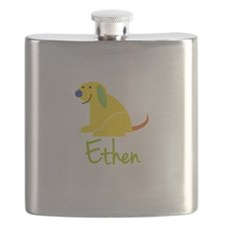 Ethen Loves Puppies Flask