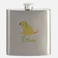 Ethen Loves Puppies Flask