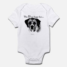 Saint Bernard Happy Face Infant Bodysuit