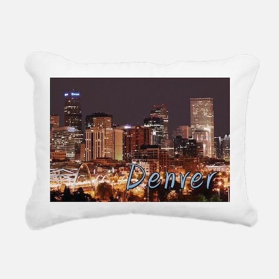 Denver Colorado Rectangular Canvas Pillow