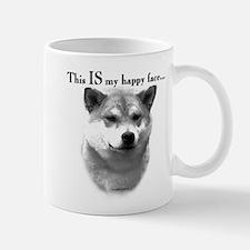 Shiba Inu Happy Face Mug