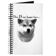 Shiba Inu Happy Face Journal