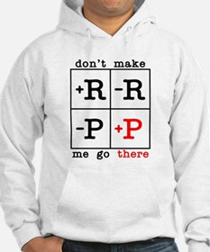 Don't Make Me Go There Hoodie