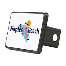 Naples Beach - Map Design. Hitch Cover